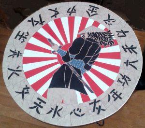 Mozaiek Bijzettafeltje China