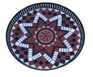 Mozaïek Dienblad Rode Ster