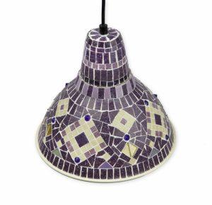 Mozaïek Hanglampje Lilac Symphony