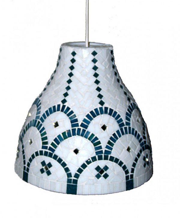 Mozaïek Hanglamp À la Grecque