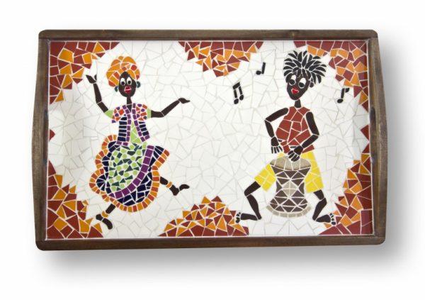 Mozaiek Dienblad Afrikaans