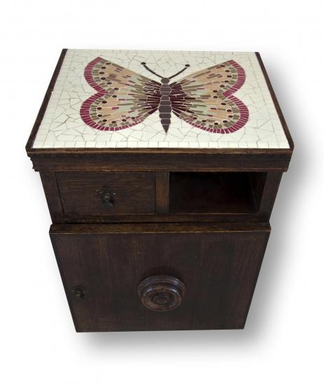 Mozaïek Kastje Vlinder