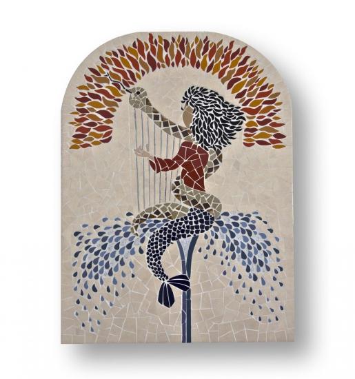 Mozaïek Schilderij Zeemeermin