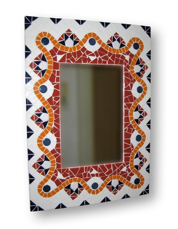 Mozaiek Spiegel Herfst