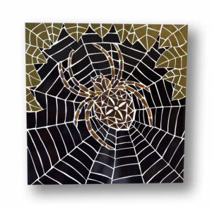 Mozaïek Schilderij Spin