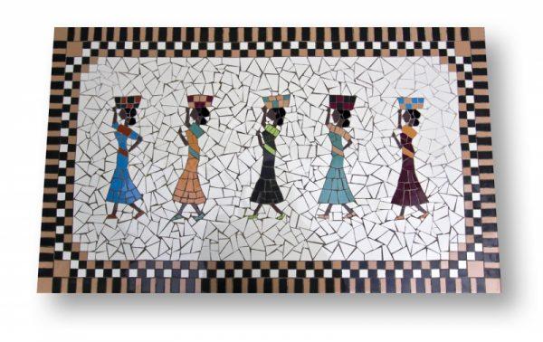 Mozaïek Tafel Afrikaans