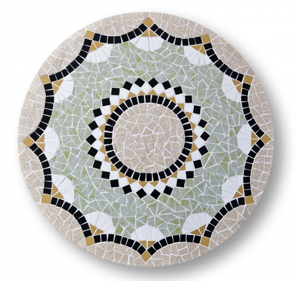 Mozaiek Bijzettafeltje Abstract