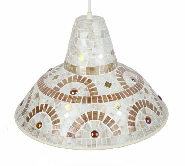 Mozaiek Lamp Brassy