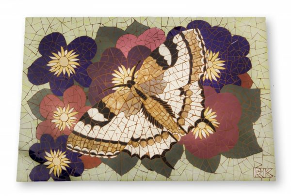 Mozaiek Schilderij Vlinder